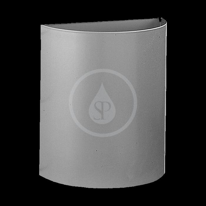 SANELA - Nerezové odpadkové koše Nerezový koš půlkulatý 12 l (SLZN 22)