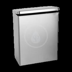 SANELA - Nerezové odpadkové koše Kôš z nehrdzavejúcej ocele na hygienické potreby 4,5 l (SLZN 24)
