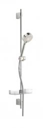 HANSA - Basicjet Sprchová súprava s nástennou tyčou 920 mm, chróm (44670133)