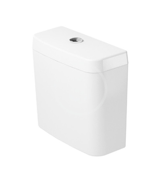 DURAVIT - D-Code Splachovací nádrž 385x170 mm, připojení vpravo nebo vlevo, alpská bílá (0927000004)