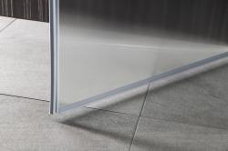 AQUALINE - PILOT otočné sprchové dvere 900mm+vanička (PT090-SET1), fotografie 2/10