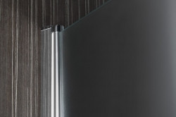 AQUALINE - PILOT otočné sprchové dvere 900mm+vanička (PT090-SET1), fotografie 4/10