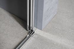 AQUALINE - PILOT otočné sprchové dvere 900mm+vanička (PT090-SET1), fotografie 10/10