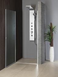 AQUALINE - PILOT otočné sprchové dvere 900mm+vanička (PT090-SET1), fotografie 12/10