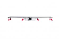AQUALINE - PILOT otočné sprchové dvere dvojkrídlové 800mm+žlab (PT082-SET2), fotografie 6/12