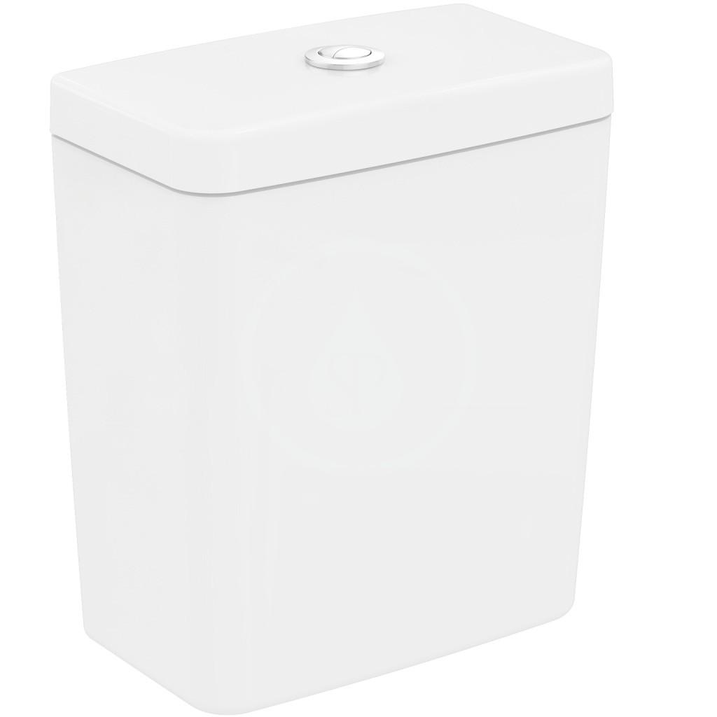 IDEAL STANDARD - Connect Splachovací nadrž Cube, objem 6 litrů, bílá (E797001)