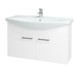 Dreja - Kúpeľňová skriňa TAKE IT SZD2 105 - N01 Bílá lesk / Úchytka T03 / N01 Bílá lesk (133610C)