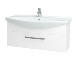Dreja - Kúpeľňová skriňa TAKE IT SZZ 105 - N01 Bílá lesk / Úchytka T01 / N01 Bílá lesk (134419A)