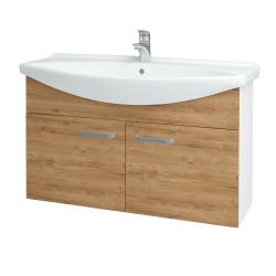 Dreja - Kúpeľňová skriňa TAKE IT SZD2 105 - N01 Bílá lesk / Úchytka T01 / D09 Arlington (152260A)