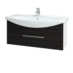 Dreja - Kúpeľňová skriňa TAKE IT SZZ 105 - N01 Bílá lesk / Úchytka T02 / D14 Basalt (152727B)