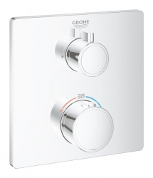 GROHE - Grohtherm Termostatická sprchová batéria pod omietku, chróm (24078000)