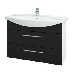 Dreja - Kúpeľňová skriňa TAKE IT SZZ2 105 - N01 Bílá lesk / Úchytka T02 / N08 Cosmo (208035B)