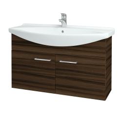 Dreja - Kúpeľňová skriňa TAKE IT SZD2 105 - D06 Ořech / Úchytka T04 / D06 Ořech (133498E)