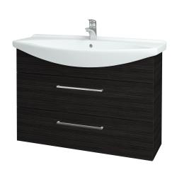 Dreja - Kúpeľňová skriňa TAKE IT SZZ2 105 - D14 Basalt / Úchytka T04 / D14 Basalt (151409E)