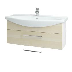 Dreja - Kúpeľňová skriňa TAKE IT SZZ 105 - N01 Bílá lesk / Úchytka T04 / D02 Bříza (152659E)