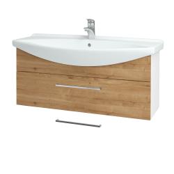 Dreja - Kúpeľňová skriňa TAKE IT SZZ 105 - N01 Bílá lesk / Úchytka T04 / D09 Arlington (152710E)