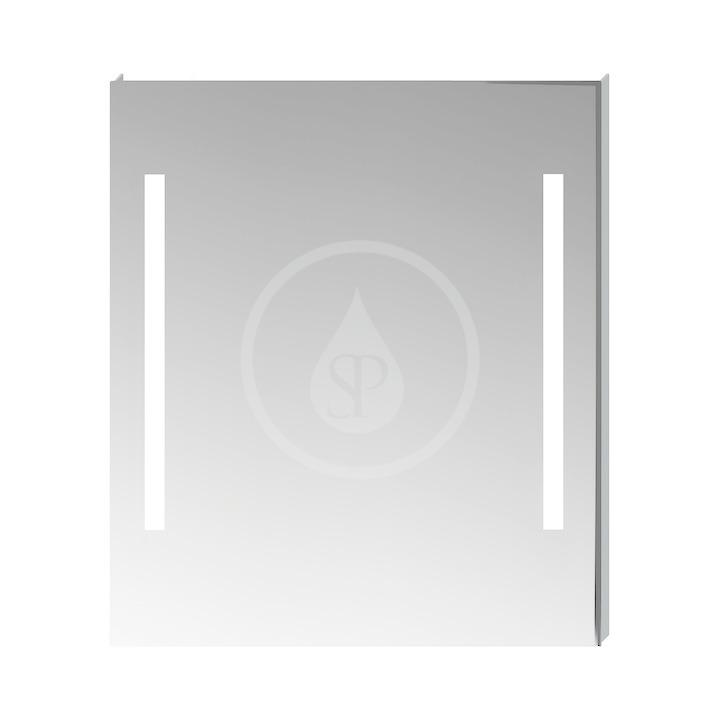 JIKA - Clear Zrkadlo s LED osvetlením, 1000 mm x 40 mm x 810 mm H4557651731441