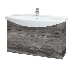 Dreja - Kúpeľňová skriňa TAKE IT SZD2 105 - D10 Borovice Jackson / Úchytka T03 / D10 Borovice Jackson (206321C)