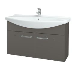 Dreja - Kúpeľňová skriňa TAKE IT SZD2 105 - N06 Lava / Úchytka T03 / N06 Lava (206451C)
