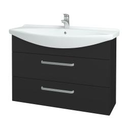 Dreja - Kúpeľňová skriňa TAKE IT SZZ2 105 - N03 Graphite / Úchytka T01 / N03 Graphite (208042A)