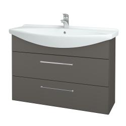 Dreja - Kúpeľňová skriňa TAKE IT SZZ2 105 - N06 Lava / Úchytka T04 / N06 Lava (208059E)