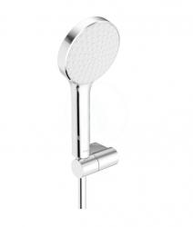 HANSA - Activejet Sprchová súprava s hadicou, držiakom a ručnou sprchou, 1 prúd, svetlosivá/chróm (84380113)