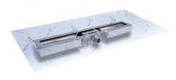 I-Drain - Linear 54 ABS sprchový žľab s hydroizoláciou, dĺžka 900 mm (IDABS4M09001X1)