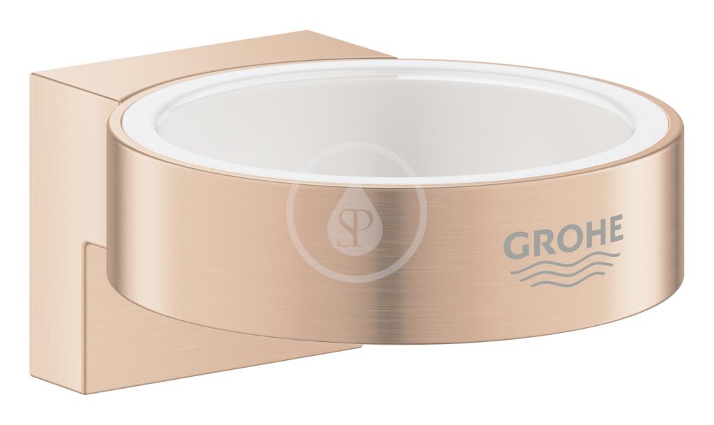 GROHE - Selection Držák skleničky/mýdelníku, kartáčovaný Warm Sunset (41027DL0)