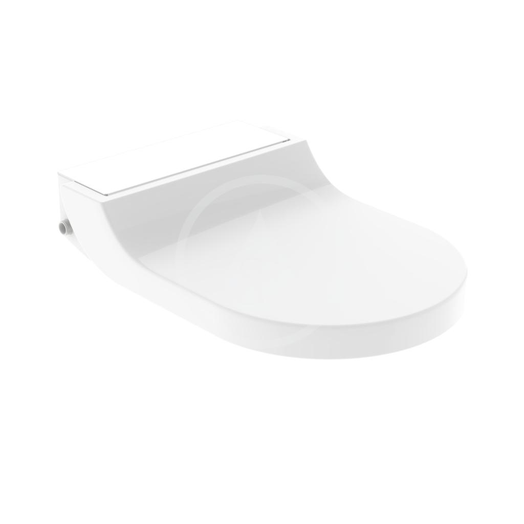 GEBERIT - AquaClean Bidetové sedadlo Tuma Comfort, SoftClosing, sklo/biela 146.272.SI.1