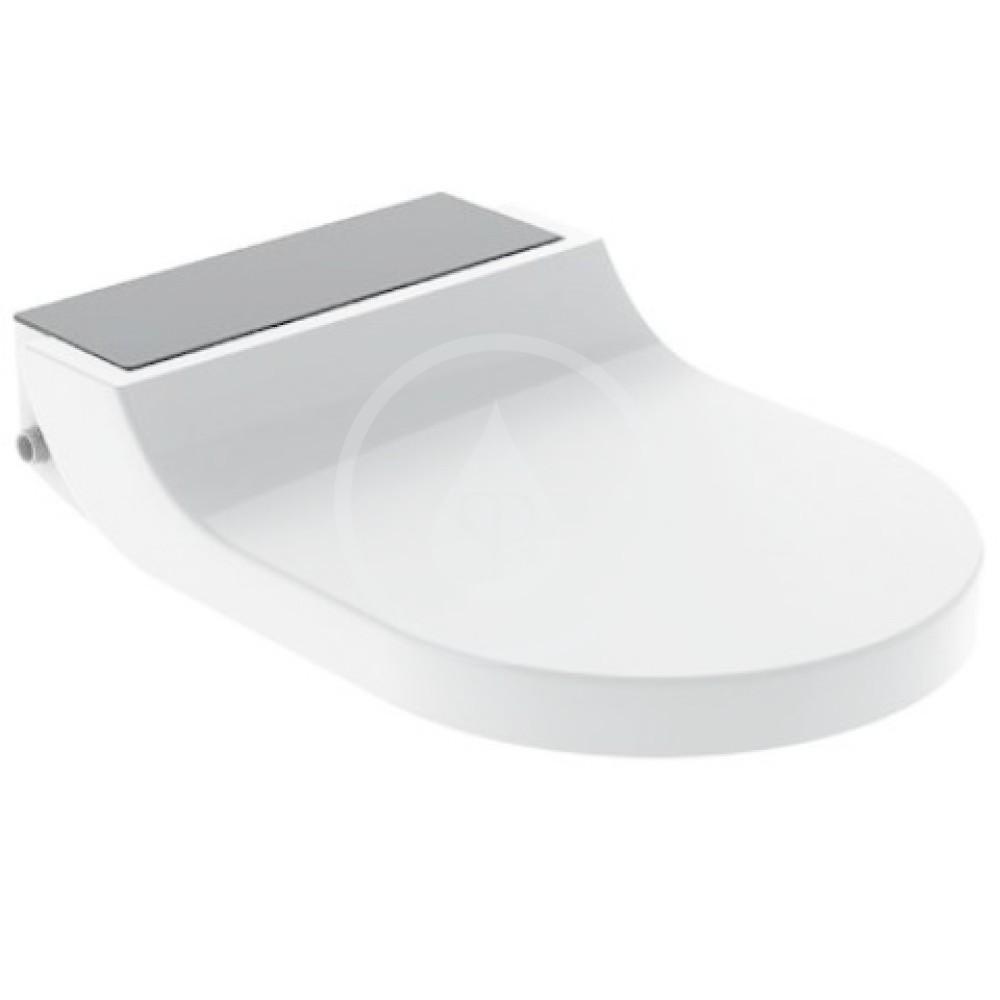GEBERIT - AquaClean Bidetové sedadlo Tuma Comfort, SoftClosing, sklo/čierna 146.272.SJ.1
