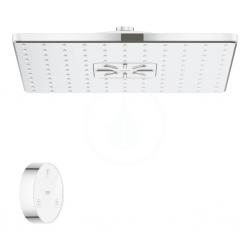 GROHE - Rainshower SmartConnect Hlavová sprcha 310 Cube 9,5 l/min s diaľkovým ovládaním, 2 prúdy, chróm (26643000)
