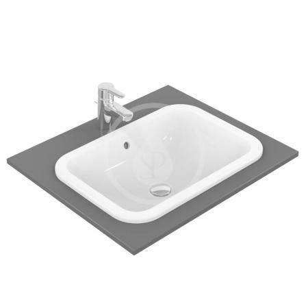 IDEAL STANDARD - Connect Umývadlo zapustené hranaté, 580×175×410 mm, biela (E505901)