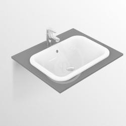 IDEAL STANDARD - Connect Umývadlo zapustené hranaté, 580×175×410 mm, biela (E505901), fotografie 4/2