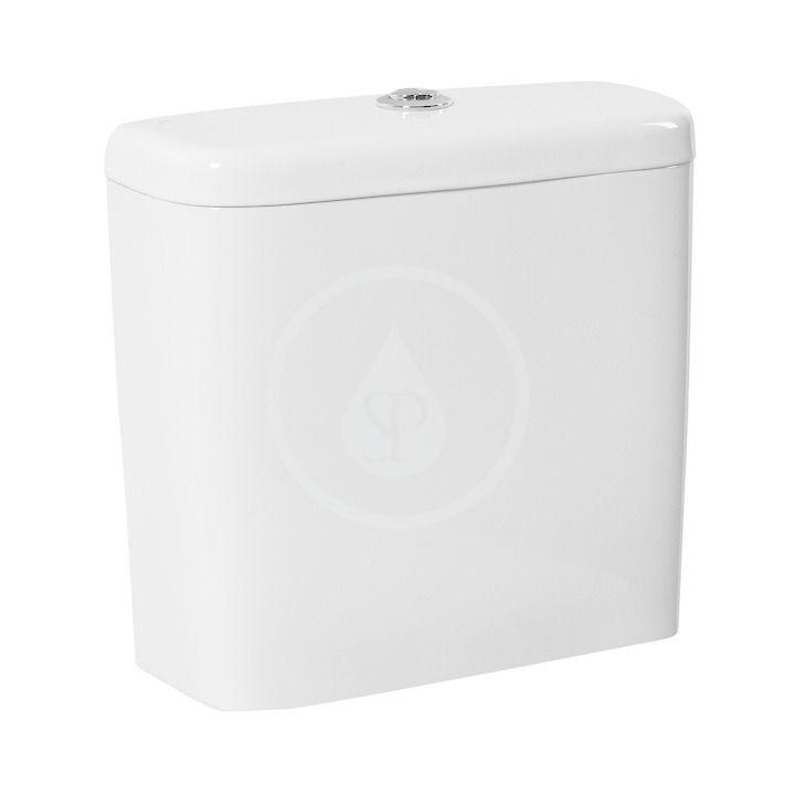 JIKA - Tigo WC nádržka kombi, bočné napúšťanie, Stop Condensation, biela H8282120007411