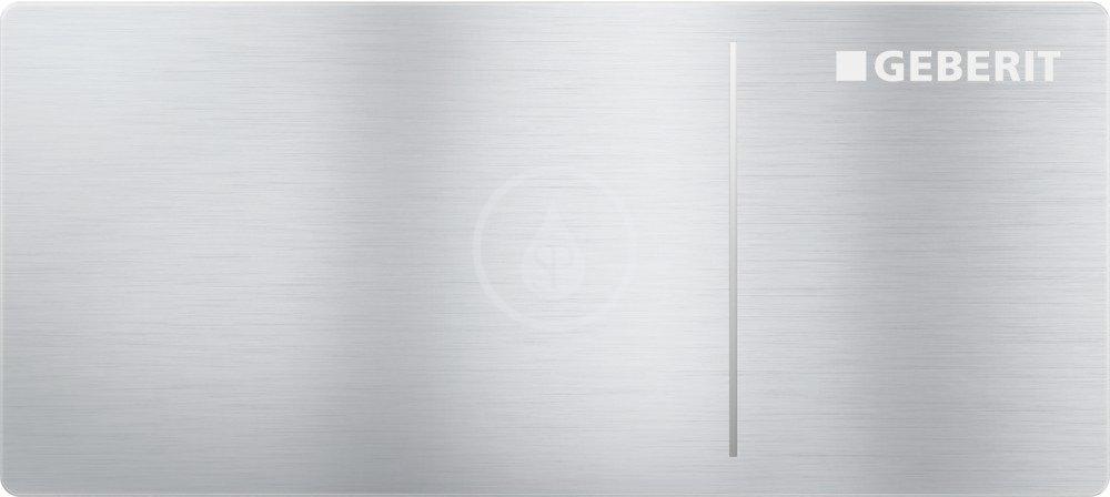 GEBERIT - Omega70 Ovládací tlačítko typ 70, pro oddálené ovládání, pro splachovací nádržku pod omítku Omega, kartáčovaná nerez (115.084.FW.1)