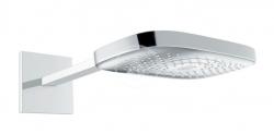 HANSGROHE - Raindance Select E Hlavová sprcha, 300 mm, 3 prúdy, sprchové rameno 390 mm, chróm (26468000)