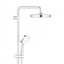 GROHE - Tempesta Cosmopolitan Sprchový systém 210 s vaňovým termostatom na stenu, chróm (26223001), fotografie 6/4