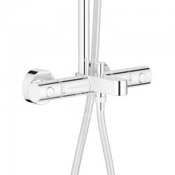 GROHE - Tempesta Cosmopolitan Sprchový systém 210 s vaňovým termostatom na stenu, chróm (26223001), fotografie 8/4