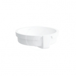 Laufen - Living Vstavané umývadlo, 400mmx400mm, biela – bez otvoru na batériu (H8134380001091)