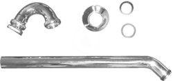 """DURAVIT - Příslušenství Bidetový rúrkový sifón 1 1/4"""" (0050270000)"""