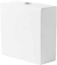 DURAVIT - Vero Splachovacia nádrž, 380 mmx160 mm, biela – nádrž, pripojenie vpravo alebo vľavo, s WonderGliss (09090000051)