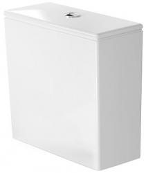 DURAVIT - DuraStyle Splachovacia nádrž, 390 mmx170 mm, biela – nádrž, pripojenie vpravo alebo vľavo, splachovanie 6 l, s WonderGliss (09350000051)