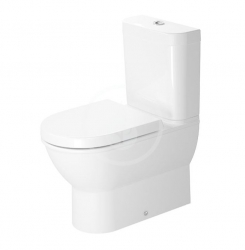 DURAVIT - Darling New Stojacia kombinačná misa, 370 mmx400 mmx630 mm, biely – misa (2138090000)