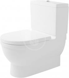 DURAVIT - Starck 3 Stojacia kombinačná misa Big Toilet, 435 mmx400 mmx735 mm, biely – misa, s WonderGliss (21040900001)