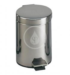 SANELA - Nerezové odpadkové koše Kôš z nehrdzavejúcej ocele 5 l (SLZN 11)