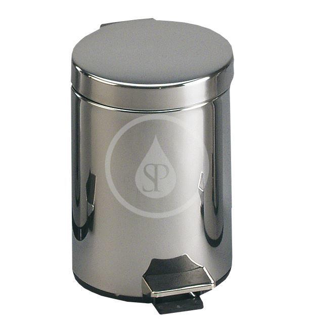 SANELA - Nerezové odpadkové koše Nerezový koš 20 l, lesklá (SLZN 12)
