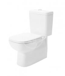 DURAVIT - D-Code WC kombi misa, Vario odpad, alpská biela (21180900002)