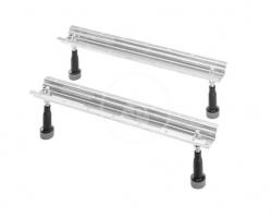 DURAVIT - Příslušenství Podstavné nožičky na vane a sprchové vaničky, pre dĺžku nad 1000 mm (790100000000000)