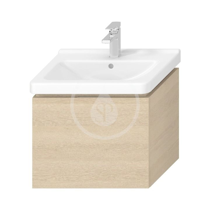 JIKA - Cubito Skrinka pod umývadlo 590 mmx480 mm, dub H40J4233015191