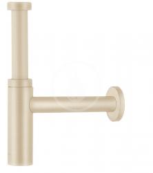 HANSGROHE - Sifony Designový sifón Flowstar S, kefovaný bronz (52105140)